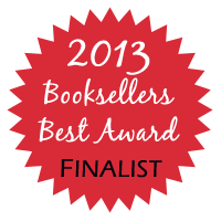GDRWA 2013 Booksellers Best Award