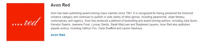 Avon Red Corporate