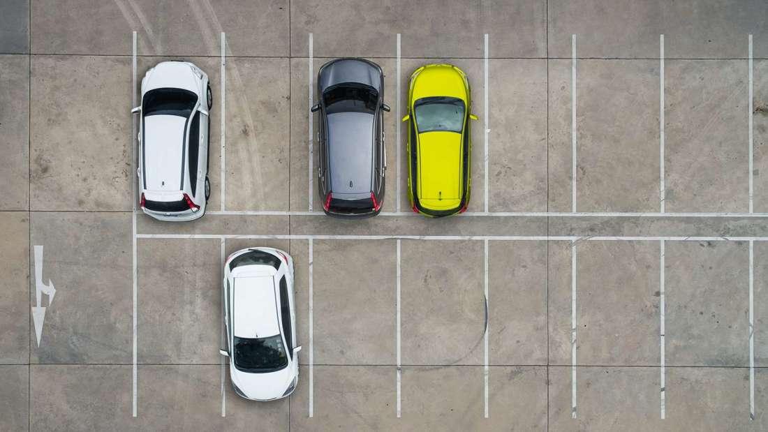parking spaces